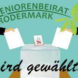 Seniorenbeiratswahl für die Stadtteile Urberach und Bulau